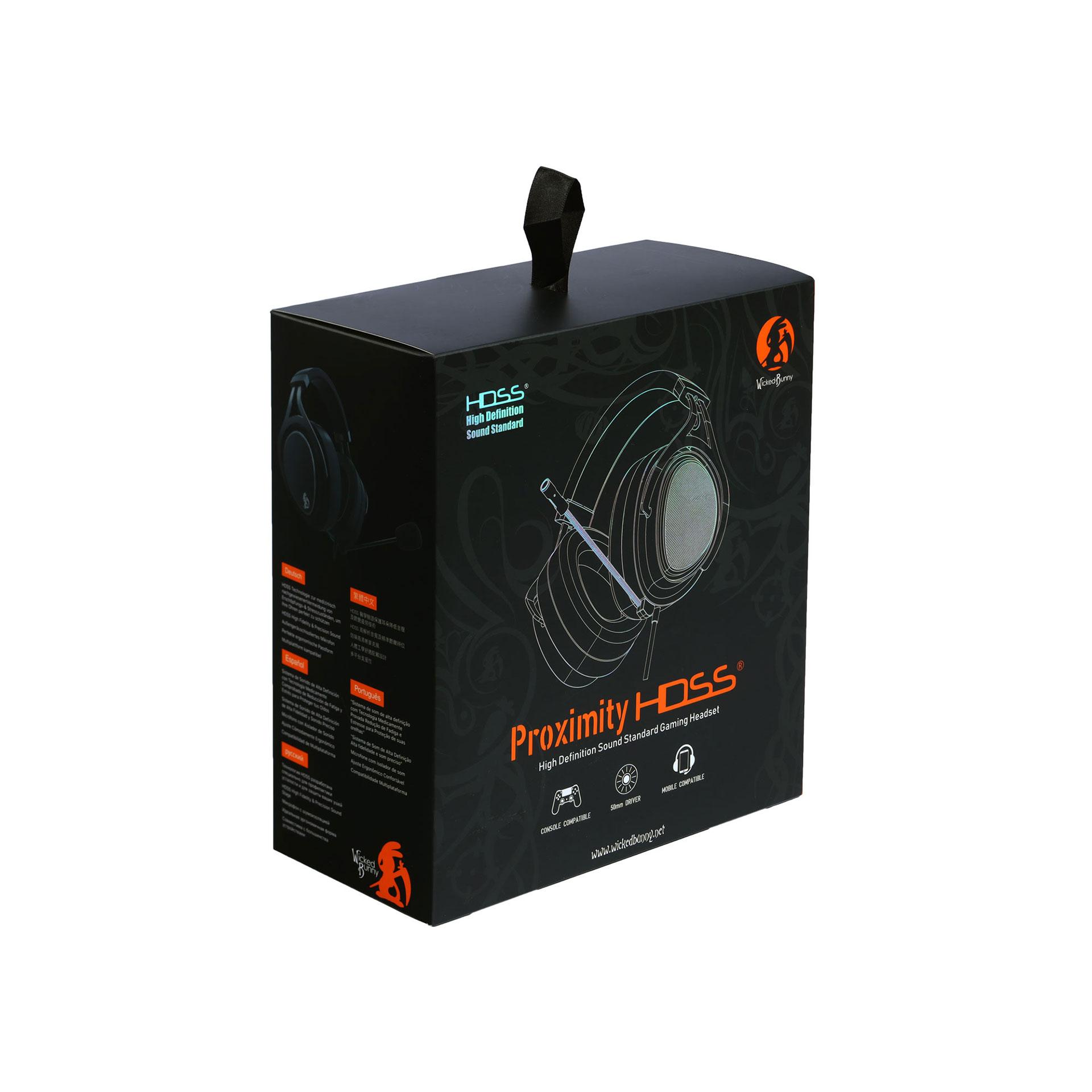 電競耳機- Proximity 神樂-HDSS